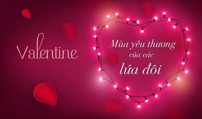 Ngày 14 tháng 2 là ngày lễ tình yêu, ngày lễ tình nhân còn gọi là ngày Valentine
